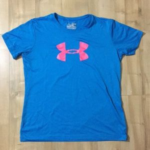 Youth XL Under Armour heat gear loose t-shirt